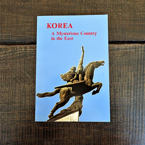 Book North Korea Korea A Mysterious Country In The East 1988