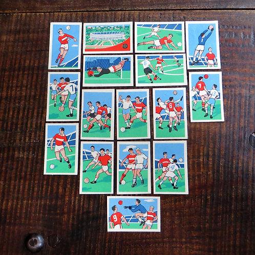 Matchbox Labels Soviet Union Soccer