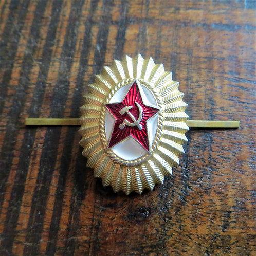 Pin Soviet Russia Hat Officer