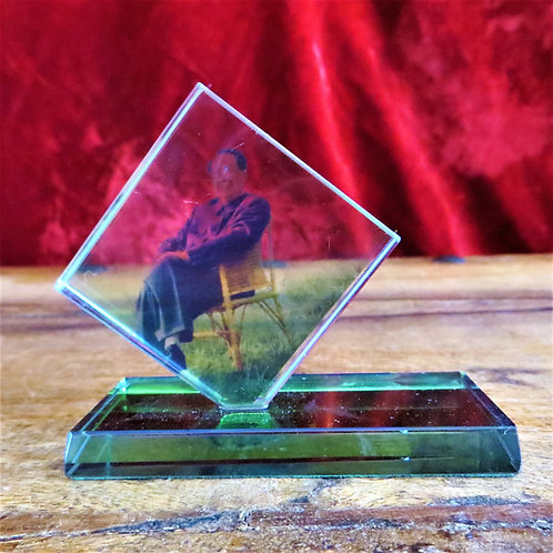 Desktop China Mao Zedong On Glass