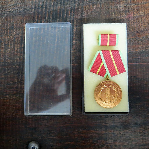 Medal DDR Bordertroops Of The DDR Gold