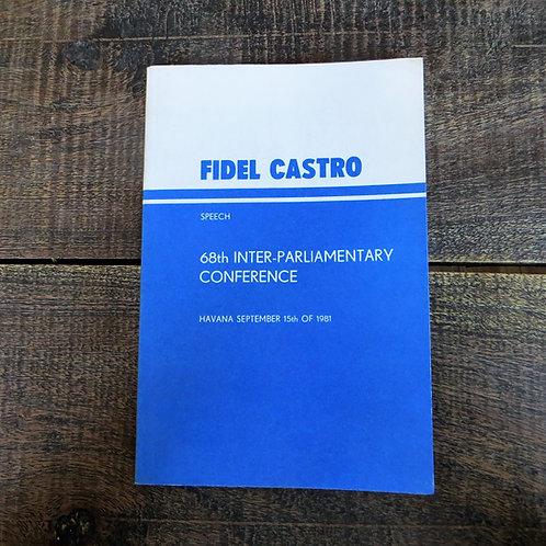 Book Cuba Fidel Castro Conference 1981