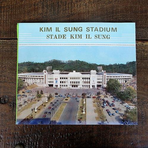 Book North Korea Kim Il Sung Stadium 1984