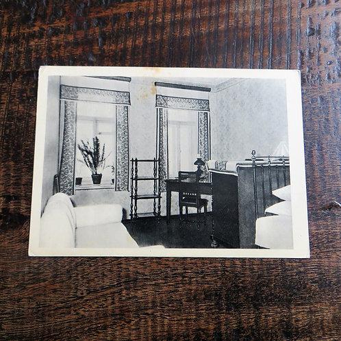 Postcard Soviet Russia Lenin Alliluyevy Apartment