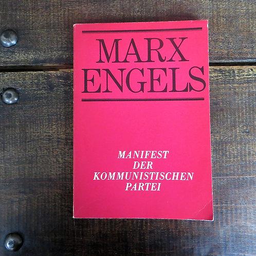 Books DDR Karl Marx And Friedrich Engels Manifest Der Kommunistischen Partei