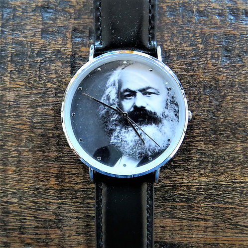 Unique Propagandaworld Modern Karl Marx Watch