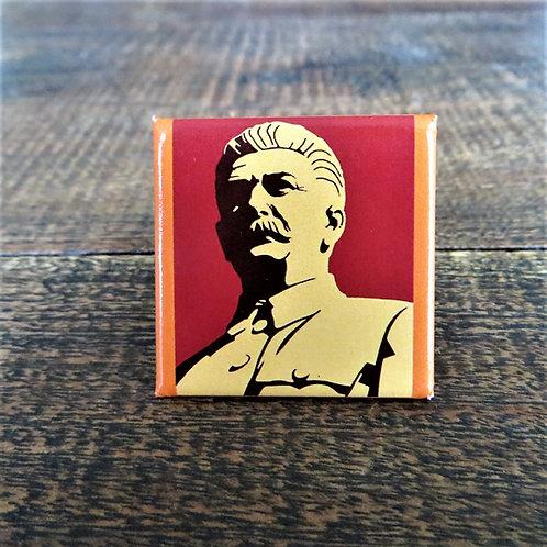 Propaganda Stalin Fridge Magnet