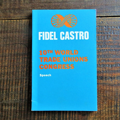 Book Cuba 10th. World Trade Unions Congress 1982