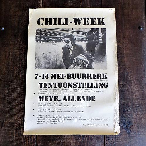 Poster Netherlands Original Chili Week