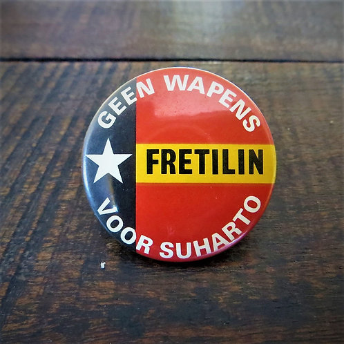 Pin Netherlands Fretilin Indonesia