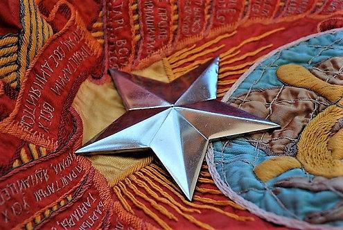 Various Soviet Russia Solid Soviet Star From A Memorial
