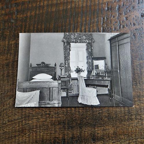 Postcard Soviet Russia Lenin Bedroom Lenin's House