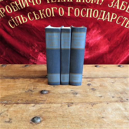 Books DDR Karl Max Das Kapital 1971