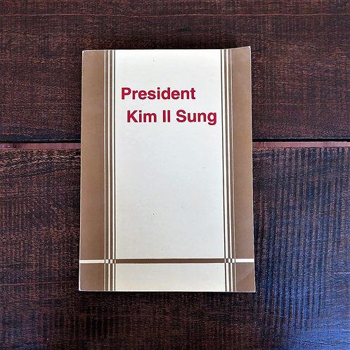 Book North Korea Kim Il Sung President Kim Il Sung 1993