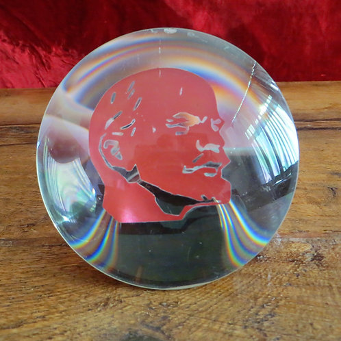 Desktop Soviet Russia Lenin In Glass