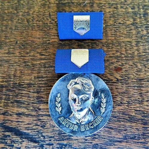 Medal DDR FDJ Artur Becker Silver Edition