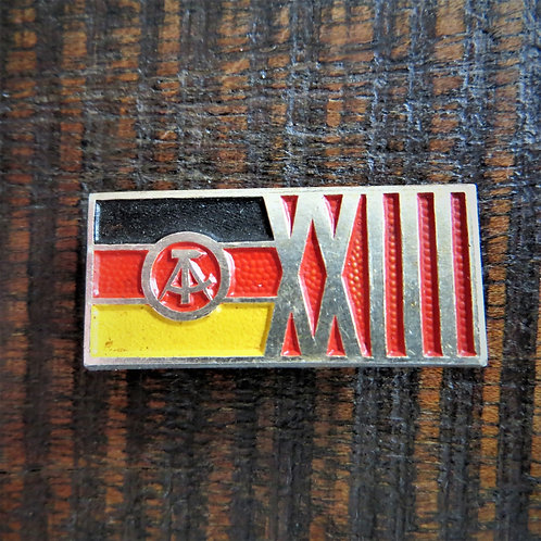 Pin DDR 23 Years Of DDR 1972