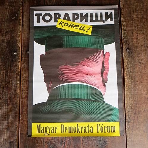 Poster Hungary Original Anti Russian