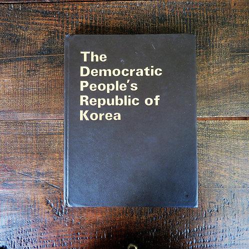 Book North Korea The Democratic People's Republic Of Korea 1986