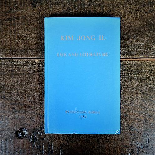Book North Korea Kim Jong Il Life And Literature 1986