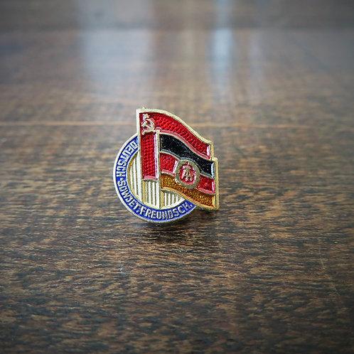 Pin DDR Soviet German Friendship DSF