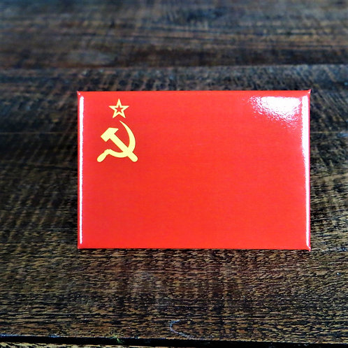Fridge Magnet Soviet Flag Fridge Magnet