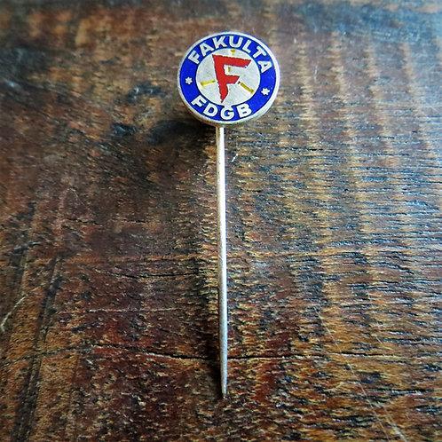 Pin DDR FDGB Fakulta