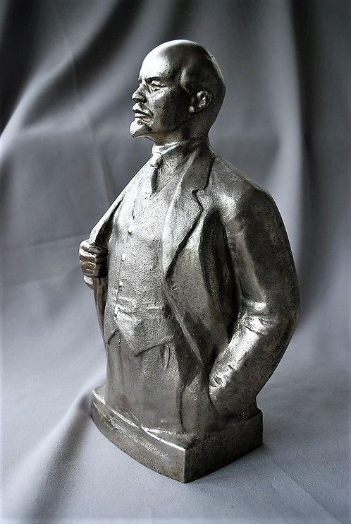 Bust Lenin With Signature 1977