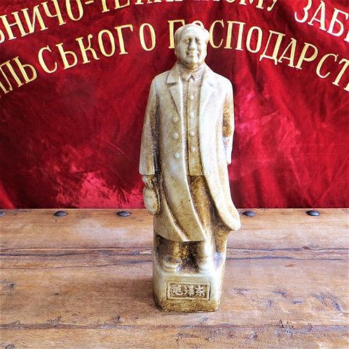 Statue Mao Zedong Porcelain