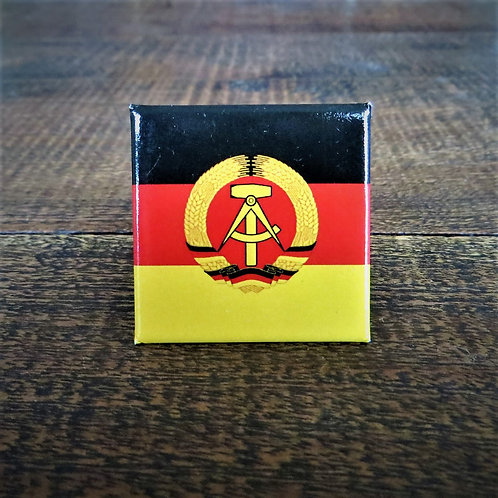 Fridge Magnet DDR Flag