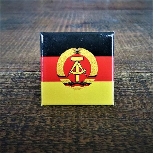 Fridge Magnet DDR Flag