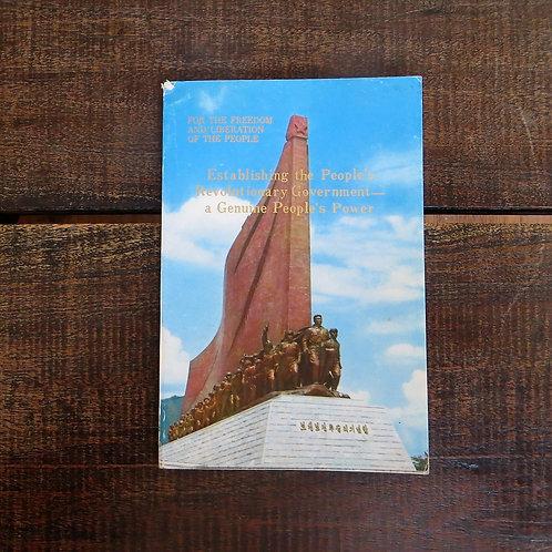 Book North Korea Genuine People's Power 1974