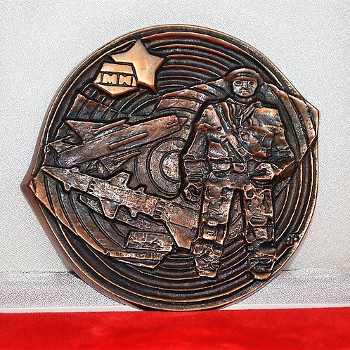 Table Medal Soviet Russia Air Defense Medal
