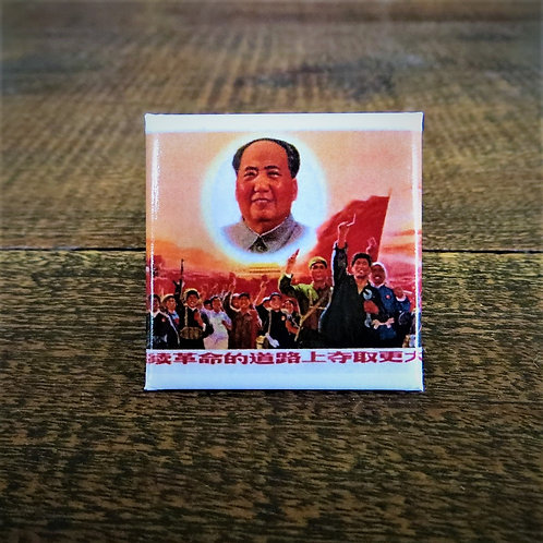 Fridge Magnet China Mao