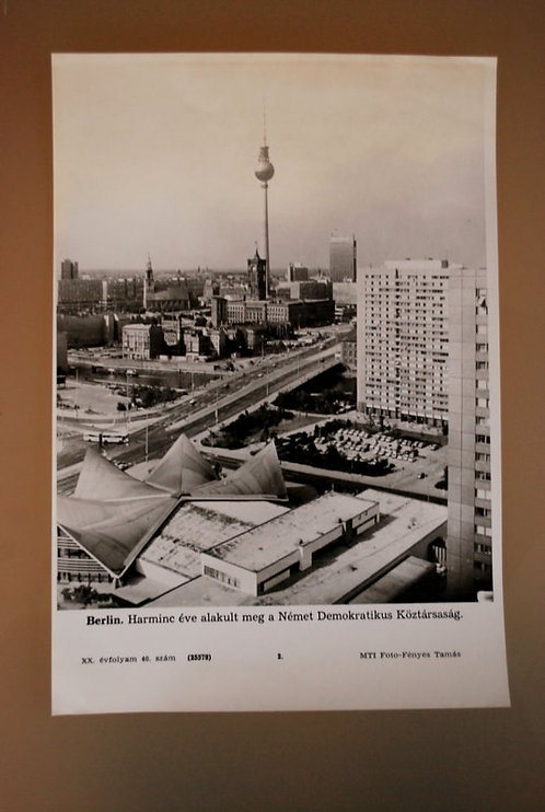 Photos Hungary Press Photo Berlin TV Tower