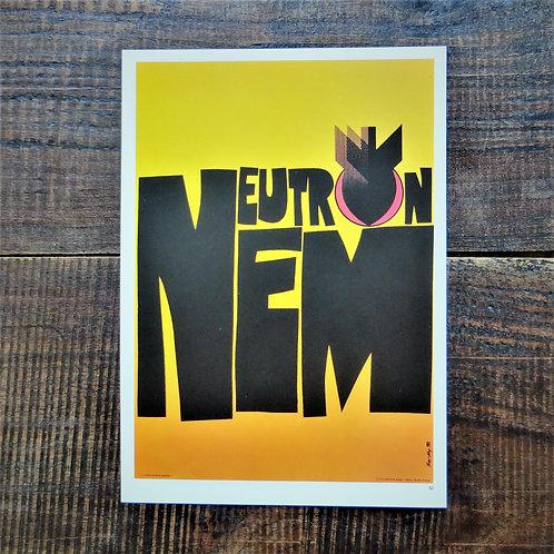 Poster Hungary Reproduction Neutron No