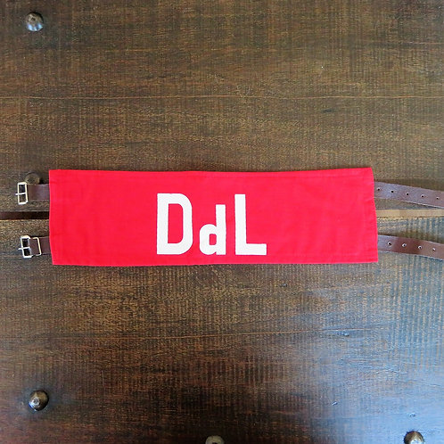 Various DDR NVA Duty Of The Chair Armband With Straps