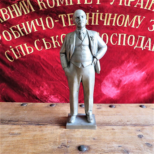 Statue Lenin Metal