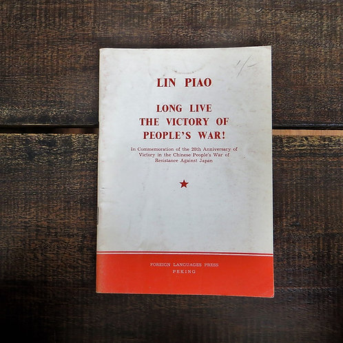 Book China Lin Biao Long Live The Victory Of The People's War! 1967