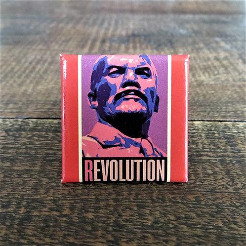 Fridge Magnet Lenin Revolution