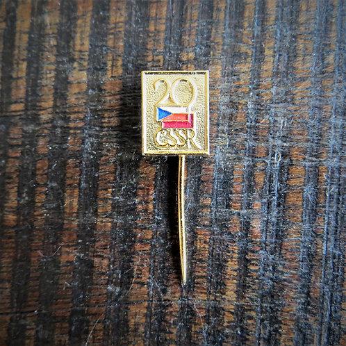 Pin Czechoslovakia 20 Years Of Friendship