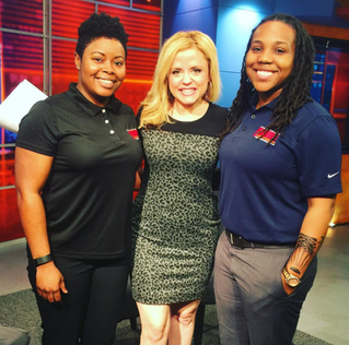 Co-Owners with Andrea Mock of WLTX Discussing Women Owned Businesses