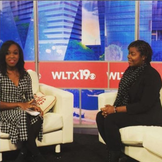 Coach KB Discusing  How to Stay Healthy During the Holidays @ WLTX