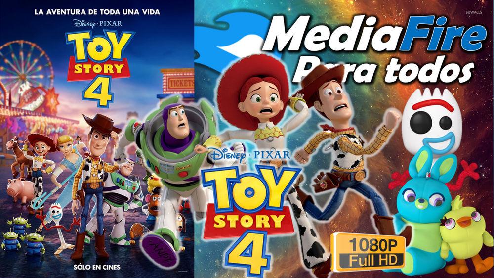Toy Story 4 Full Hd 1080p Bluray Por Mediafire Actualizado