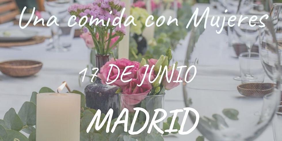Una comida con Mujeres MADRID