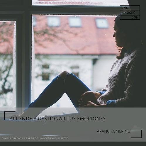 Gestión de emociones con Arancha Merino