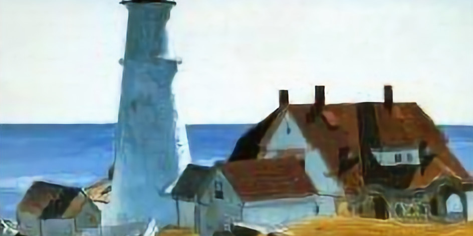 Descubrimos una obra de arte... con el Faro de Hopper