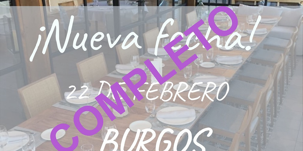 BURGOS: Una comida con Mujeres