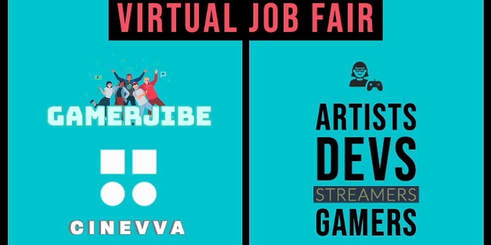 GamerJibe Virtual Job Fair