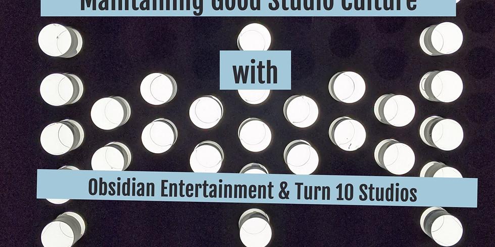 Maintaining Good Studio Culture Interview